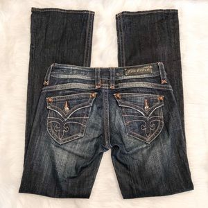 Rock Revival Gwen Boot Cut Pocket Flap Size 30